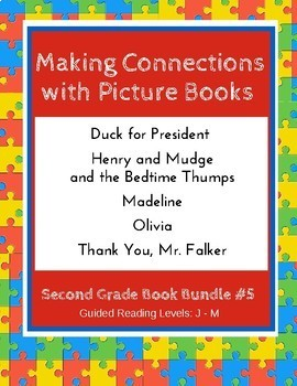 Making Connections with Picture Books (Second Grade Book Bundle #5) CCSS