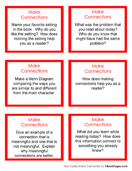 Making Connections with Picture Books (Second Grade Book Bundle #1) CCSS