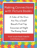 Making Connections with Picture Books (First Grade Book Bundle #1) CCSS