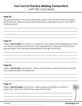 Making Connections with Picture Books (Third Grade Book Bundle) CCSS