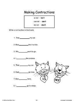 Making Contractions