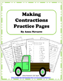 Making Contractions Practice Pages