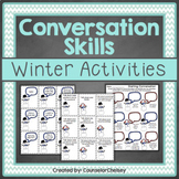 Conversation Skills Activities - Winter Themed