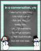 Conversation Skills: Winter Activities