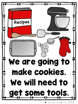 Making Cookies  (A Sight Word Emergent Reader and Teacher Lap Book)