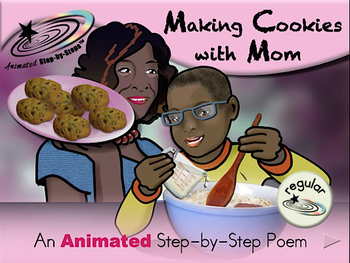 Making Cookies with Mom - Animated Step-by-Step Poem