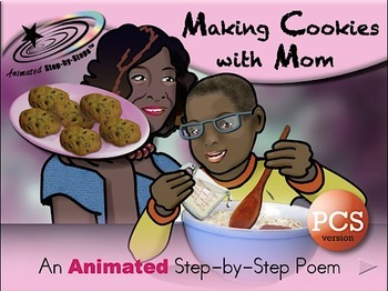 Making Cookies with Mom - Animated Step-by-Step Poem PCS