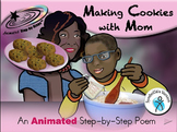 Making Cookies with Mom - Animated Step-by-Step Poem SymbolStix