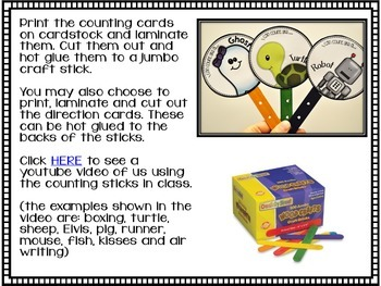 Making Counting Fun {Engage your students while hitting this Math Standard}