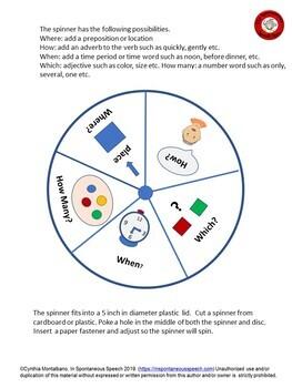 Making Descriptive Sentences
