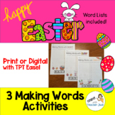 Making Easter Words