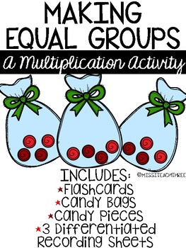 Making Equal Groups || Candy Bag Arrays
