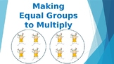 Making Equal Groups to Multiply Power Point