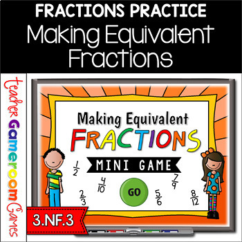 Making Equivalent Fractions Mini Game