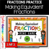 Equivalent Fractions Mini PowerPoint Game