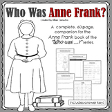 Who Was Anne Frank? - No prep book companion