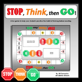 Stop, Think, then Go! A game to work on impulse control and flexibility.