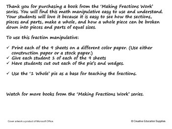 Making Fractions Work: 1 Whole to 1/12th