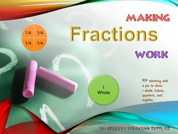 Making Fractions Work: Fourths and Eighths
