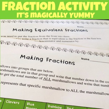 St. Patrick's Day Fraction Activity
