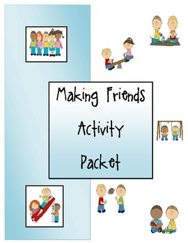 Making Friends Activity Packet
