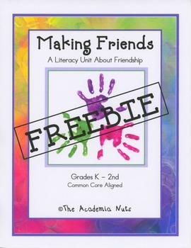 Making Friends FREEBIE