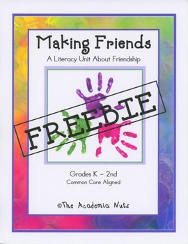 Making Friends FREEBIE