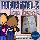 Elementary School Counseling Lap Book: Making Friends