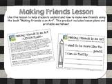 Making Friends Lesson - Making Friends is an Art