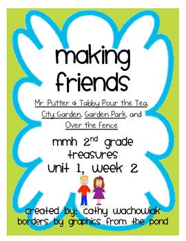 Making Friends - MMH Treasures 2nd Grade Unit 1, Week 2