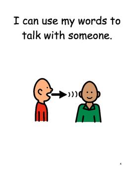 Making Friends Social Story