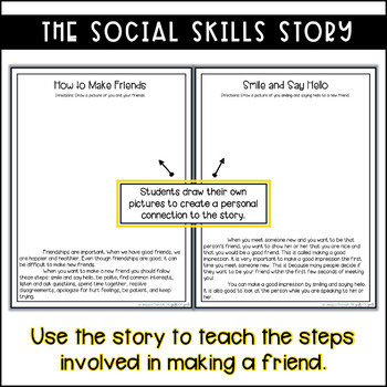 Making Friends Social Stories