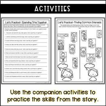 Making Friends Social Skill Stories