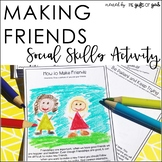 Social Skills Making Friends | Social Story for Making New Friends