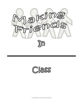 Making Friends and Saying NO to Bullies Classroom Book