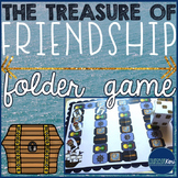 Making Friendships/New Friends Folder Game - Elementary School Counseling