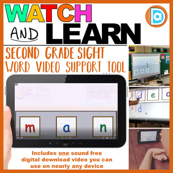 Making Fry Words | Sight Word Builder | 2nd Grade | Man
