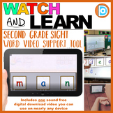 Making Fry Words | Sight Word Builder | 2nd Grade | Man