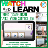 Making Fry Words   Sight Word Builder   3rd Grade   Book