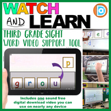 Making Fry Words   Sight Word Builder   3rd Grade   Group