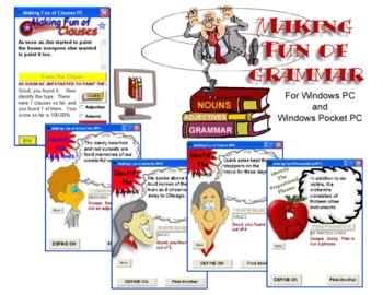 Making Fun of Grammar Series Software for Windows PC