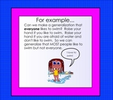 Making Generalizations Smartboard Lesson