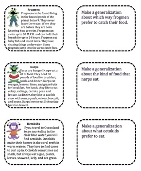 worksheet: Conclusions And Generalizations Worksheets Reading ...