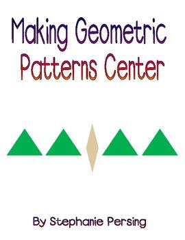 Making Geometric Patterns Center