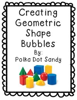 Making Geometric Shape Bubbles