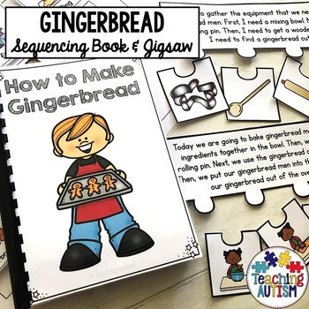 Making Gingerbread Sequencing Activity Pack