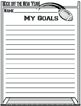 Making Goals - Sports Themed