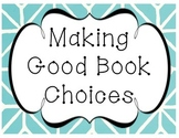 Making Good Book Choices Poster