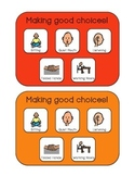 Making Good Choices - Behavioral Support Board