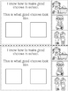 Making Good Choices Interactive Reader {School Rules}